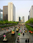 The revitalised Cheonggyecheon Greenway By: lensfodder via Flickr