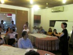 Participants at the Mapping Workshop