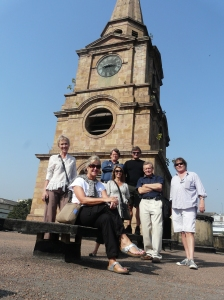 Calwalks_travelers at the st. john's steeple